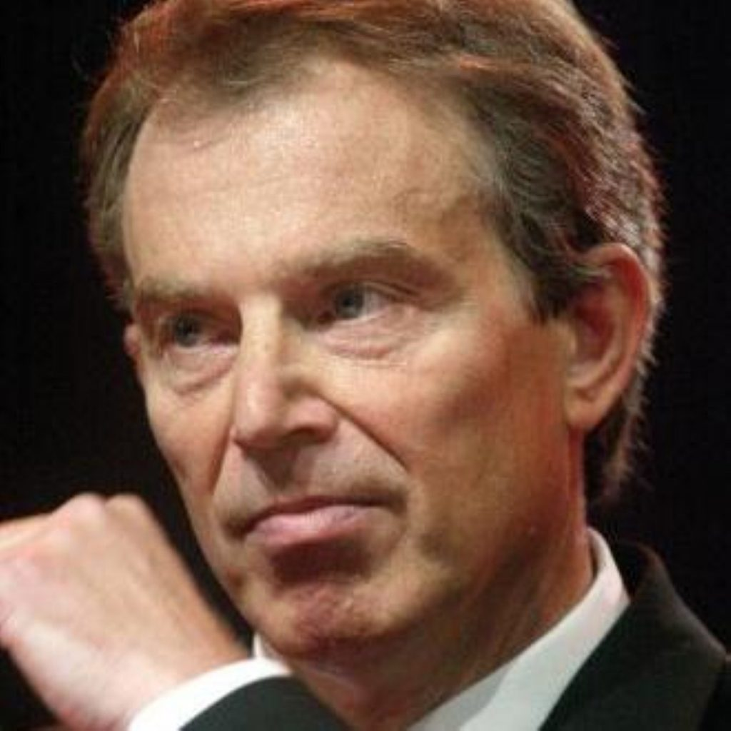 Tony Blair says David Cameron should put his vote where his mouth is