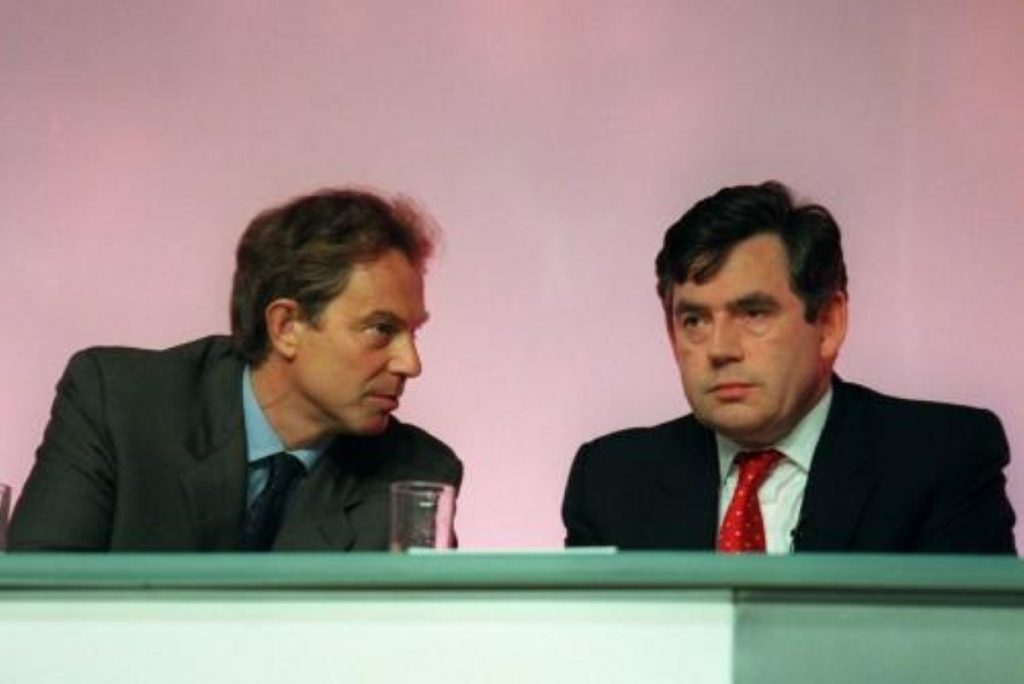 Tony Blair appears to back Gordon Brown as his successor