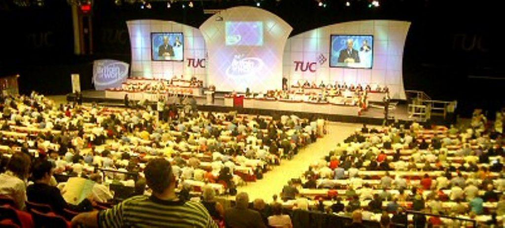 TUC delegates in Brighton vote to back trade union freedom bill