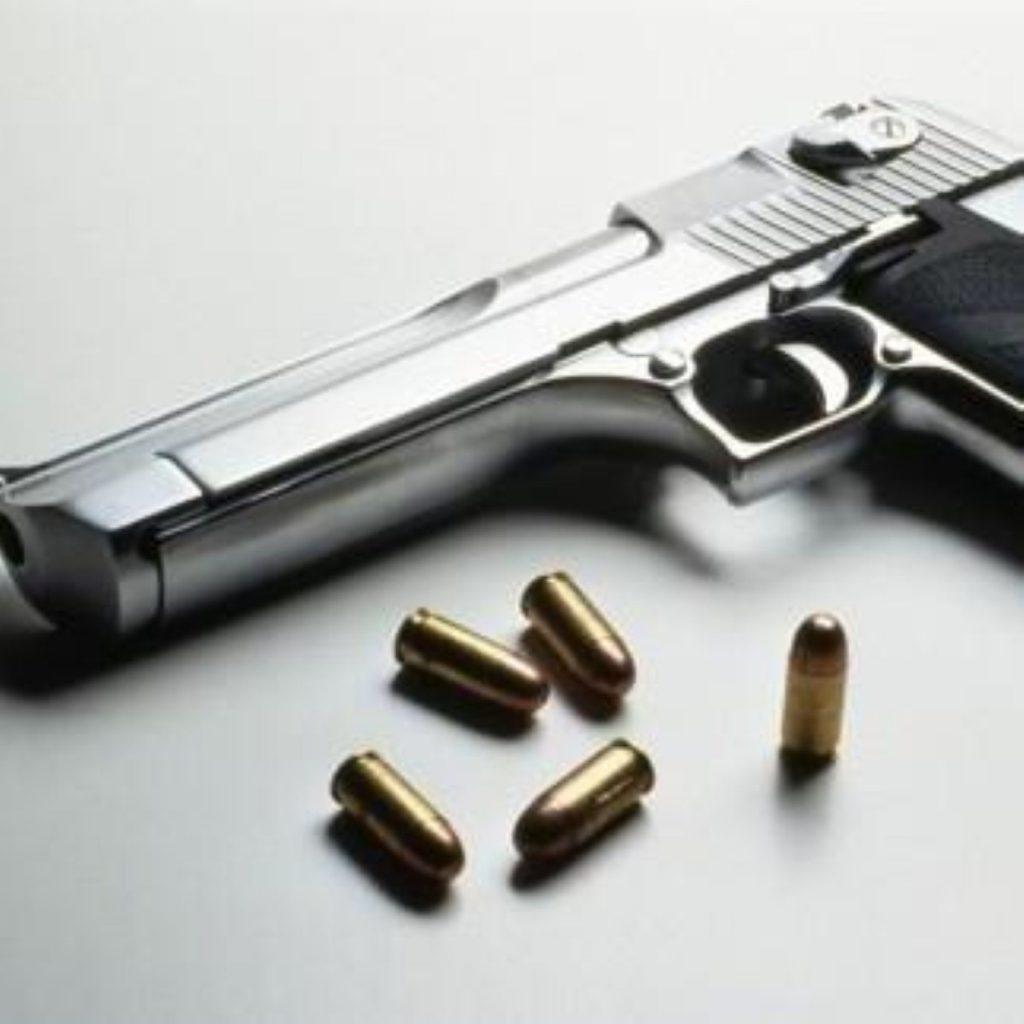Gun crime on the rise in London