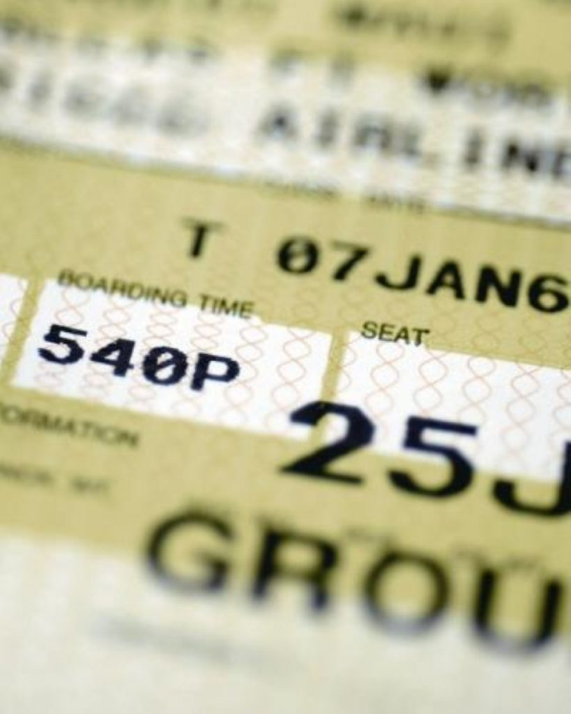 Booked: Deportees typically are taken to short-term accommodation before the flight