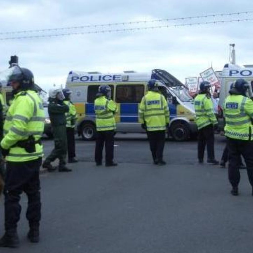 Police are set to protest against budget cuts