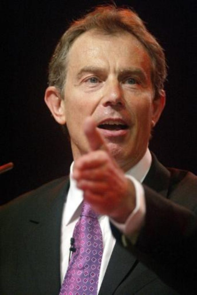 Tony Blair comes under fire over immigration system in PMQs