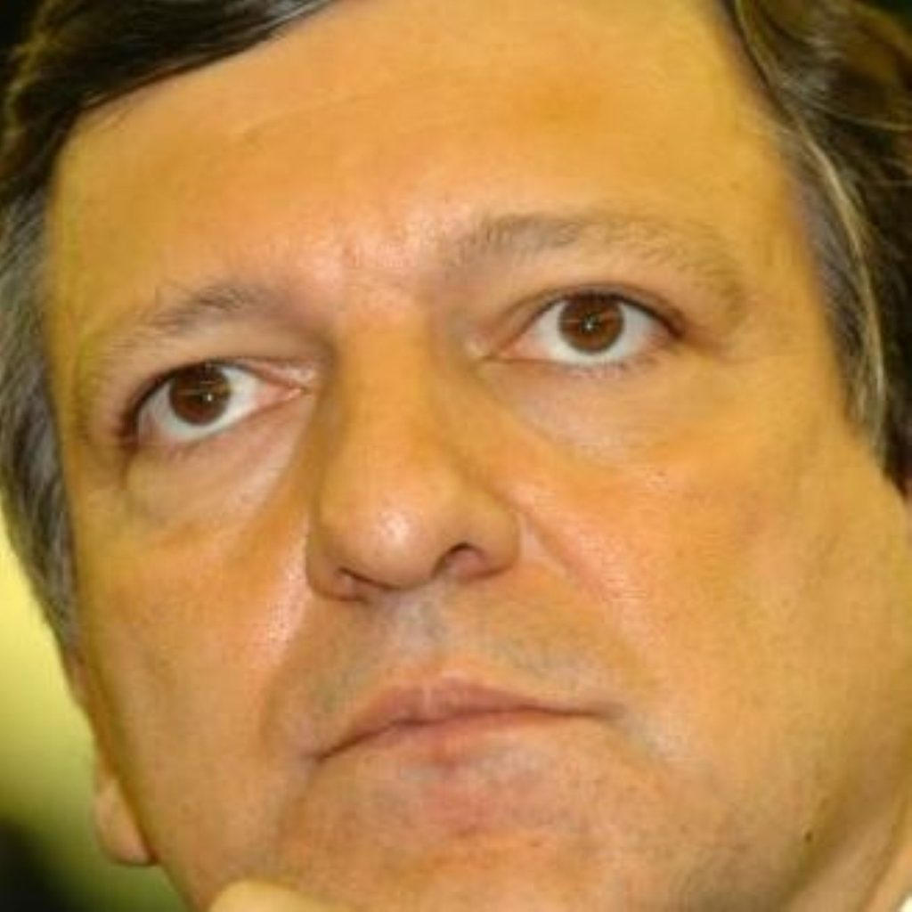 Looking ahead to a superstate? Barroso admits desire for federation.