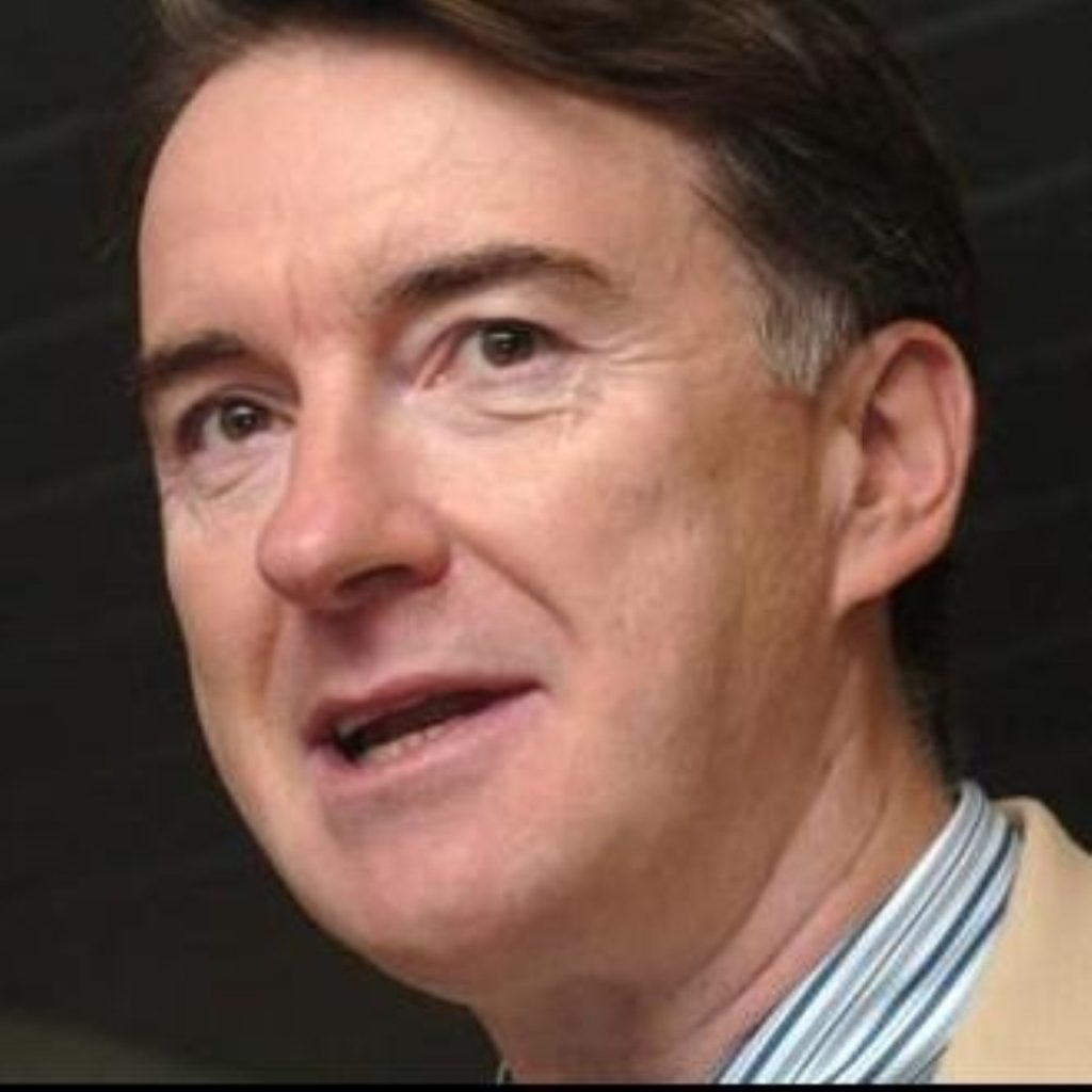 Peter Mandelson launches thinly-veiled attack on Gordon Brown