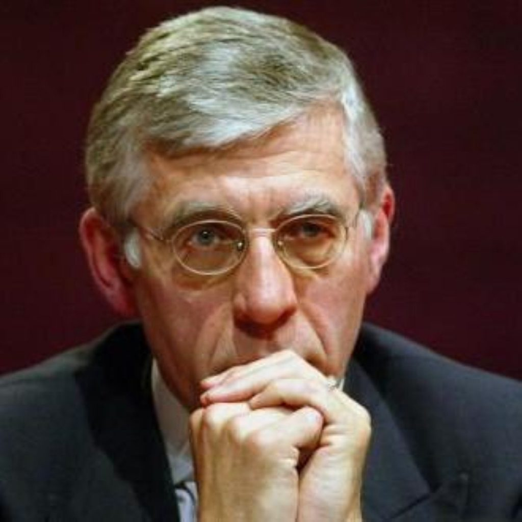 Jack Straw, leader of the House of Commons