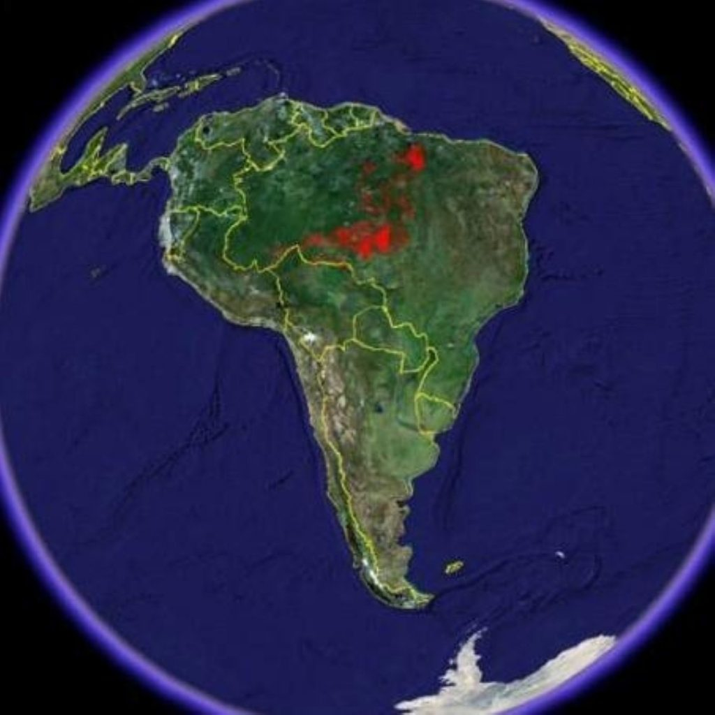 The Amazon has been victim to severe deforestation