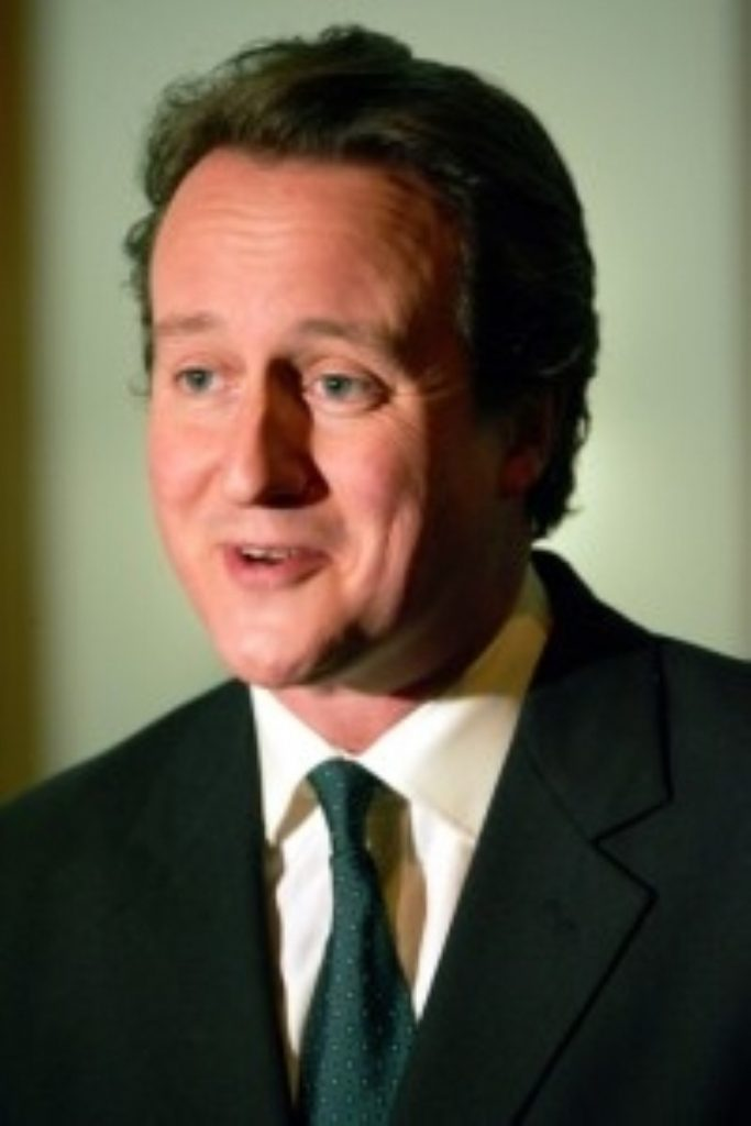 David Cameron pressed for a vote on Trident