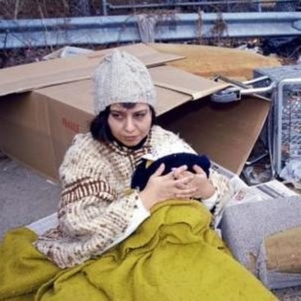 Govt claims progress has been made on rough sleeping