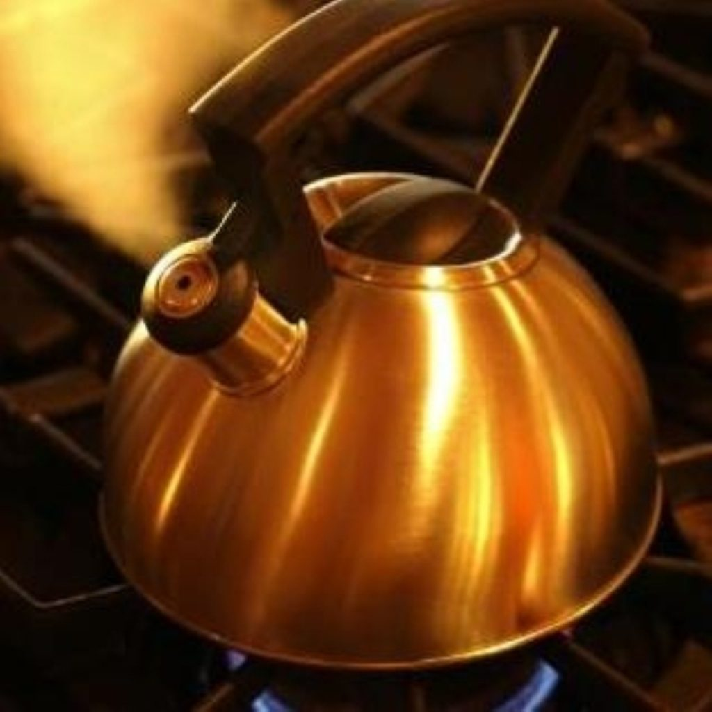 Filling the kettle too much is one of Britain's energy-efficiency mistakes