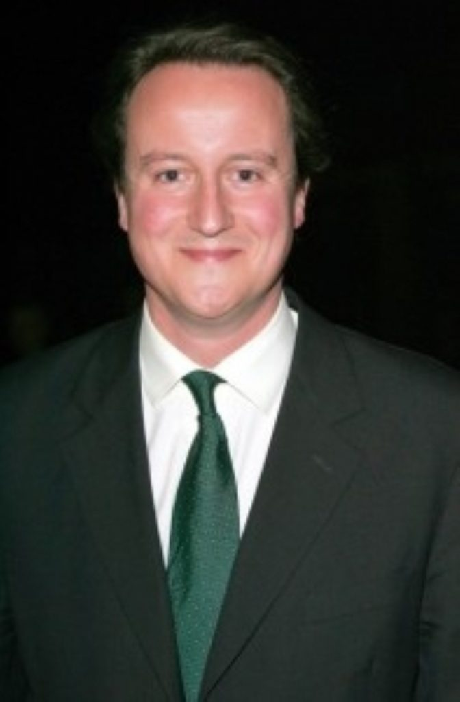 Cameron - the missing Marx brother?
