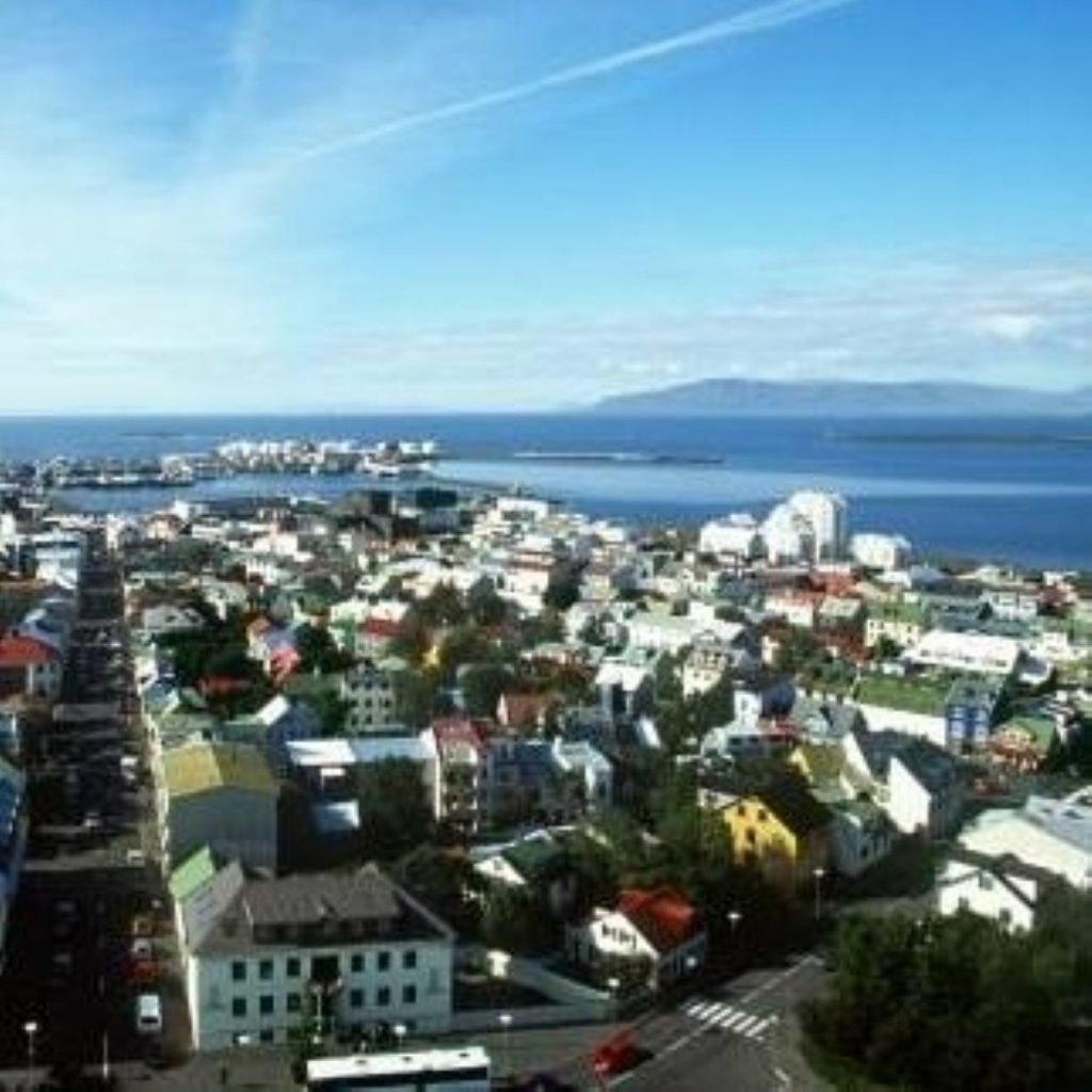 Reykjavik, Iceland. The county was one of the first victims of the financial crisis