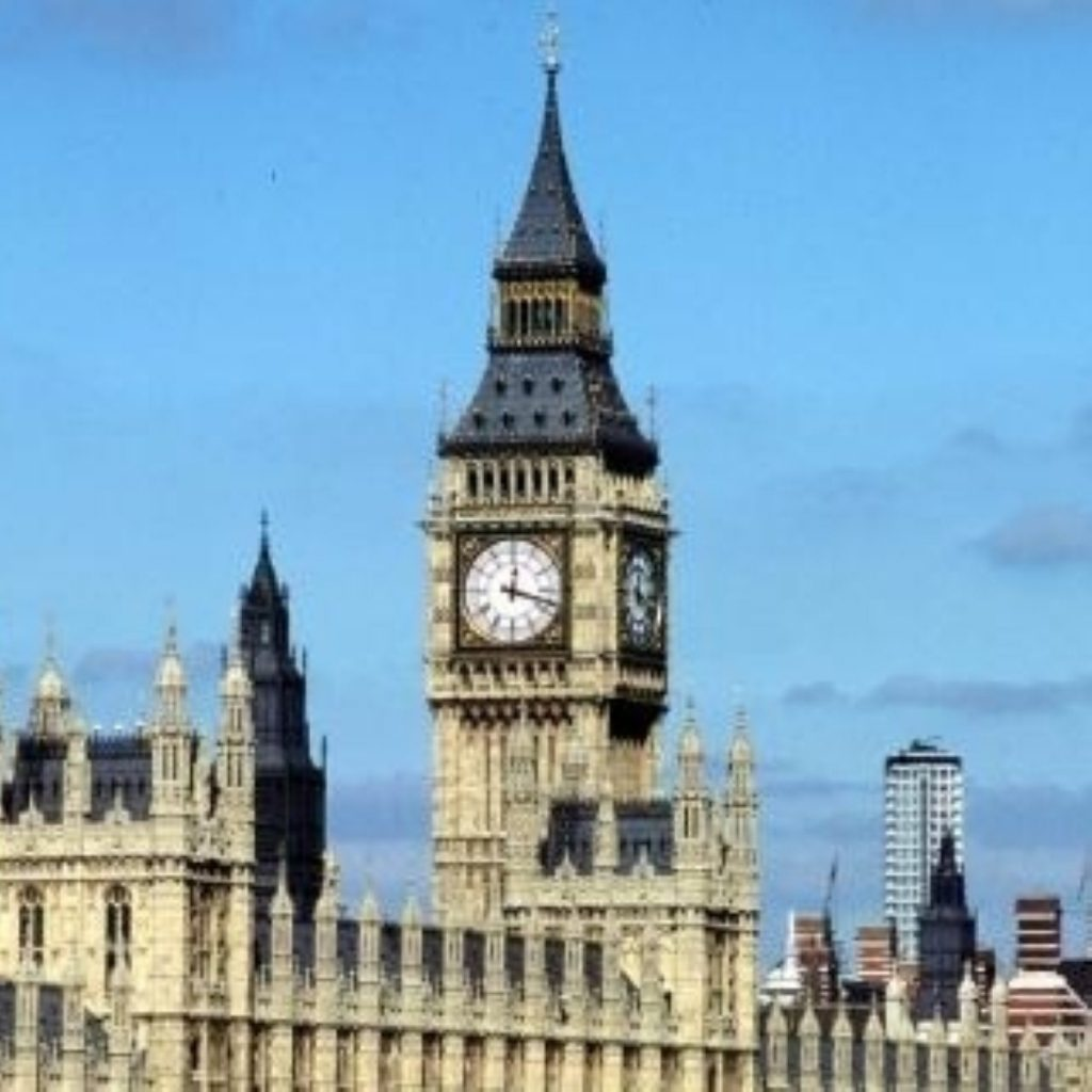 The election of a new speaker for the House of Lords has begun