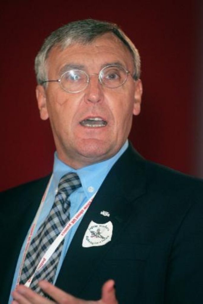 Tony Woodley was one of the trade union leaders to condemn Blair's TUC speech