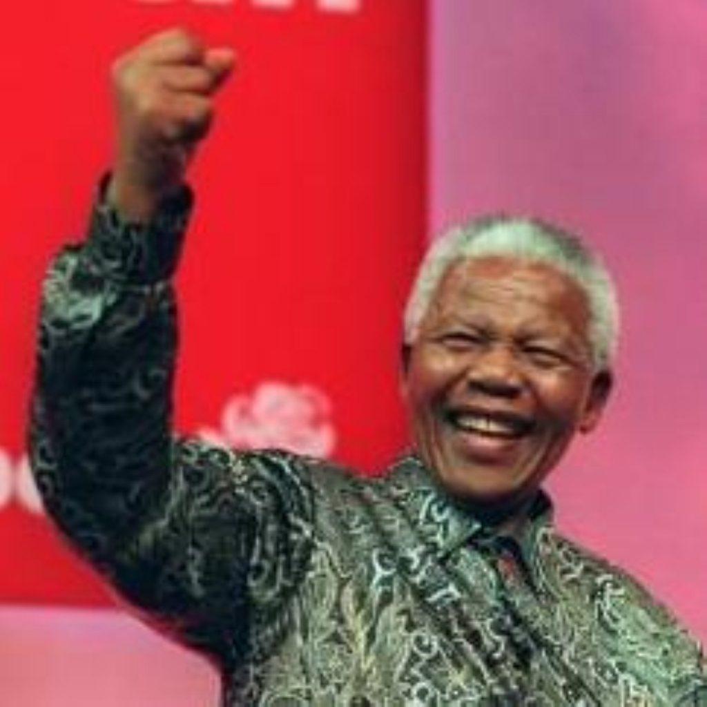 Nelson Mandela was released from prison 20 years ago today