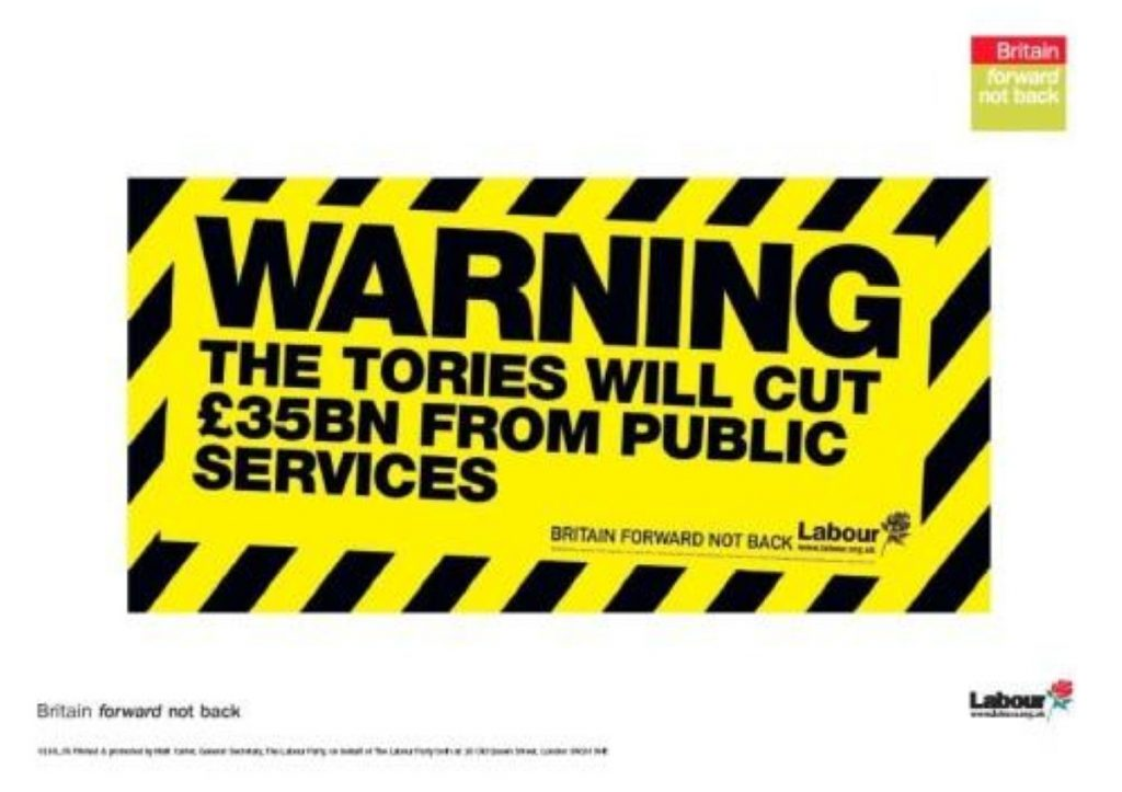 Labour attacks Tory spending plans