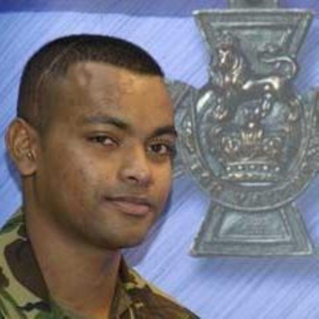 Beharry honoured with top military award