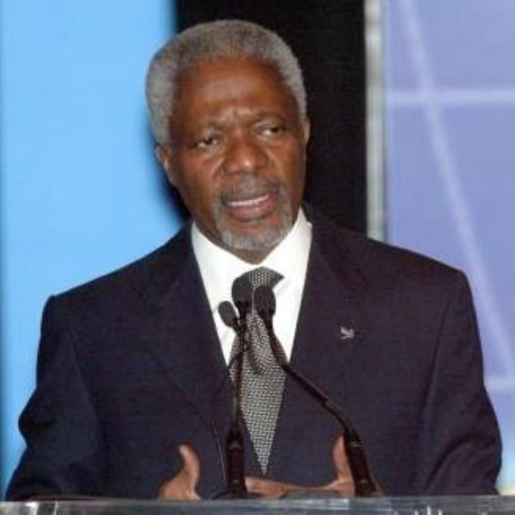 Annan: The killing must stop