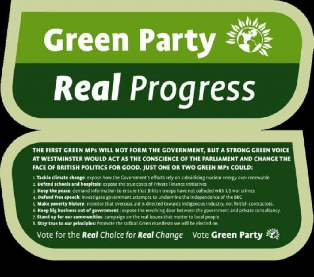 Good news for the Greens