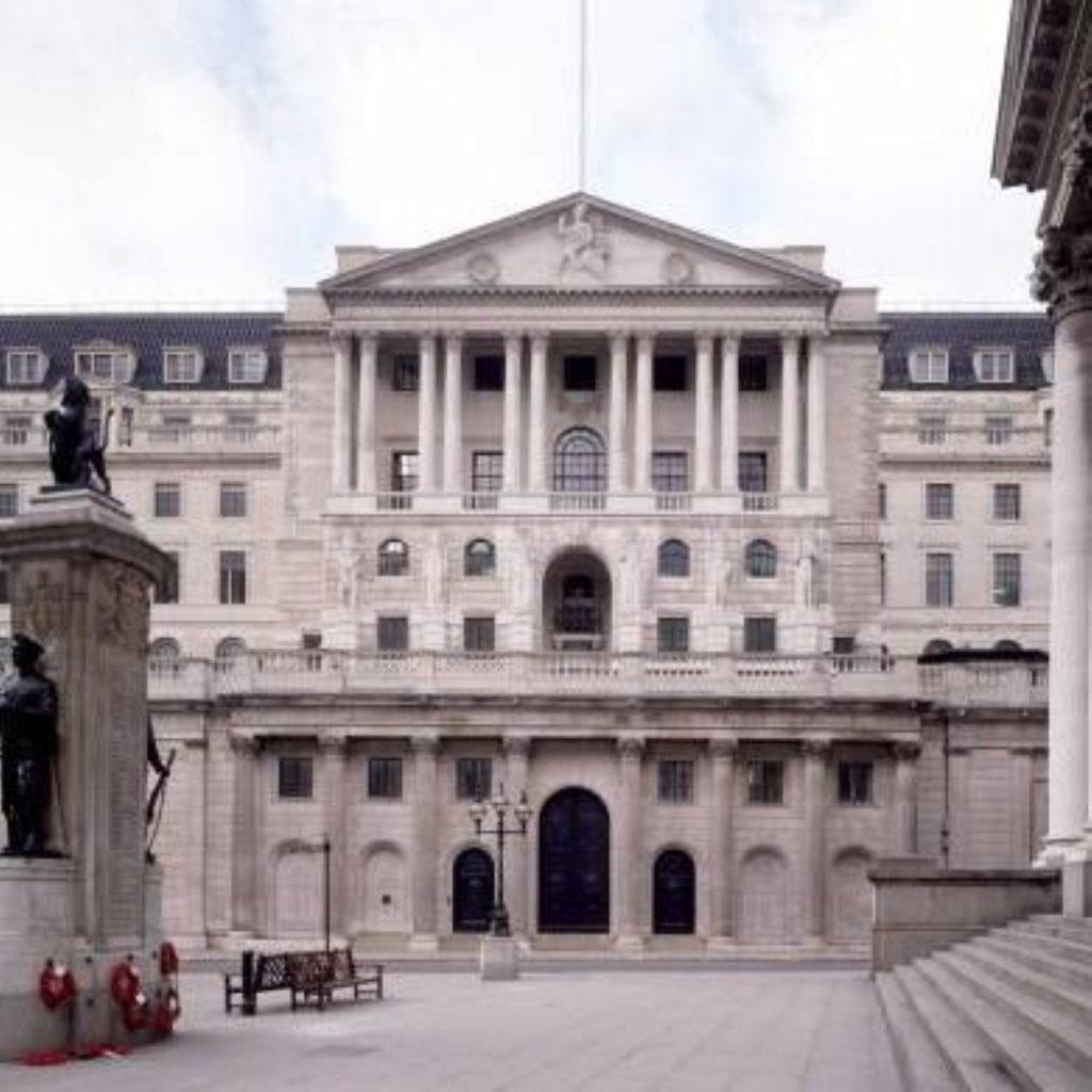 The Bank of England increased interest rates to 5% today
