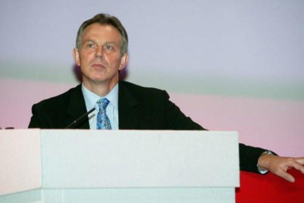 Tony Blair makes keynote speech on education