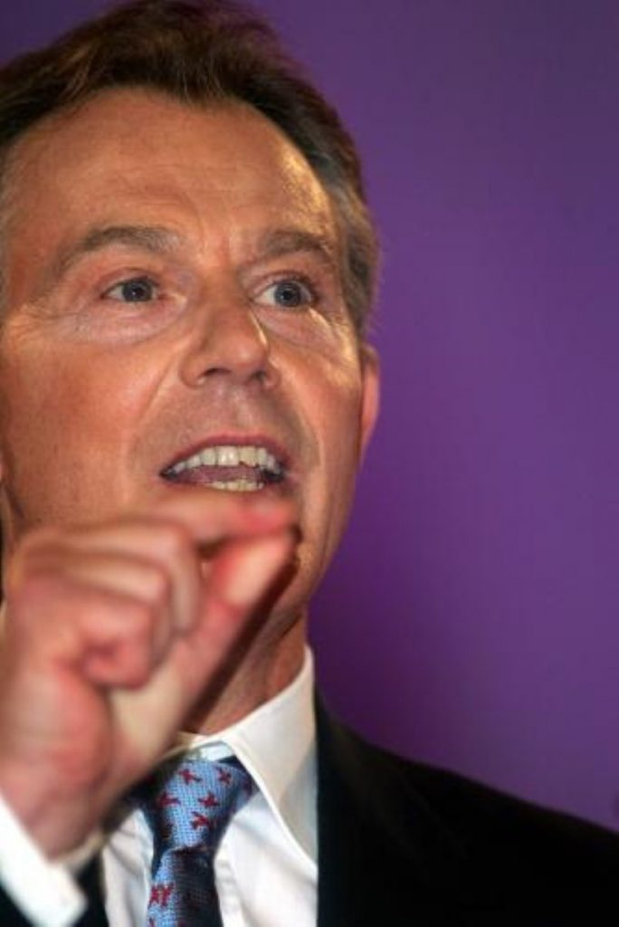 """Tony Blair says Labour's infighting in the last week has been """"irredeemably old-fashioned"""""""