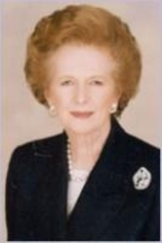 Welsh Labour candidate Ian Lock has been reprimanded for comments on Facebook wishing the death of Margaret Thatcher.
