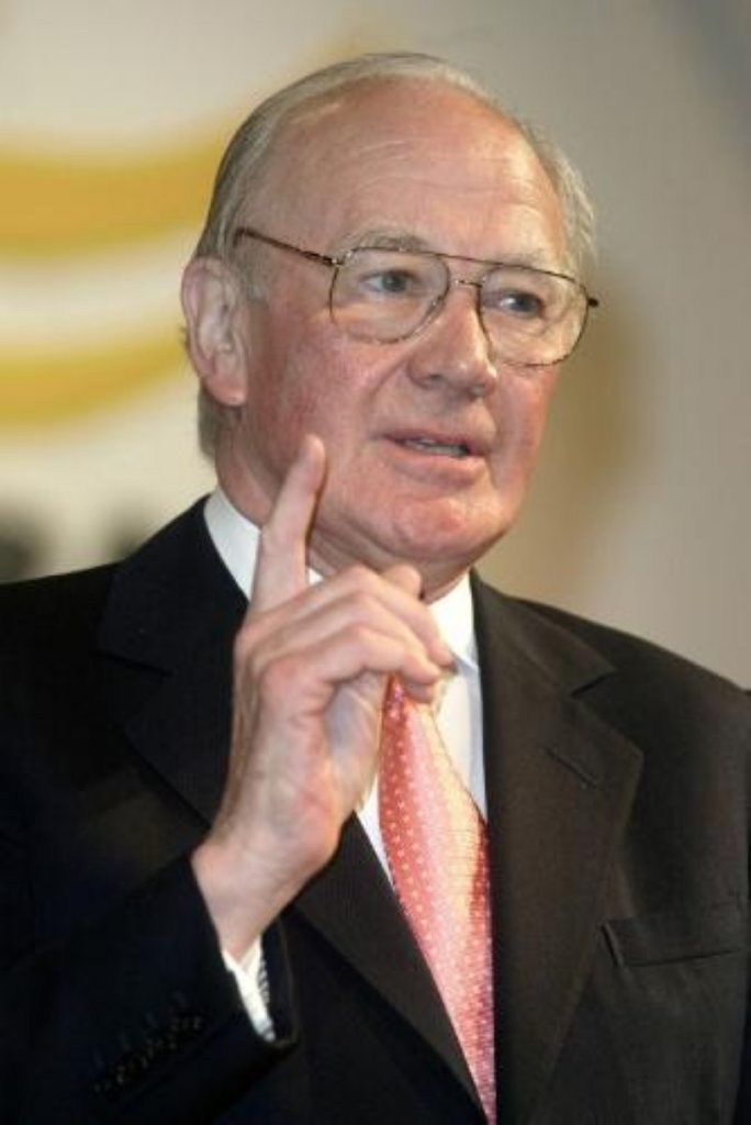 Menzies Campbell, the leader of the Liberal Democrats