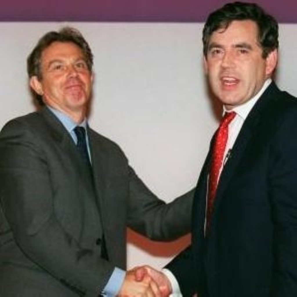 Supporters of Blair and Brown argue over Labour's future