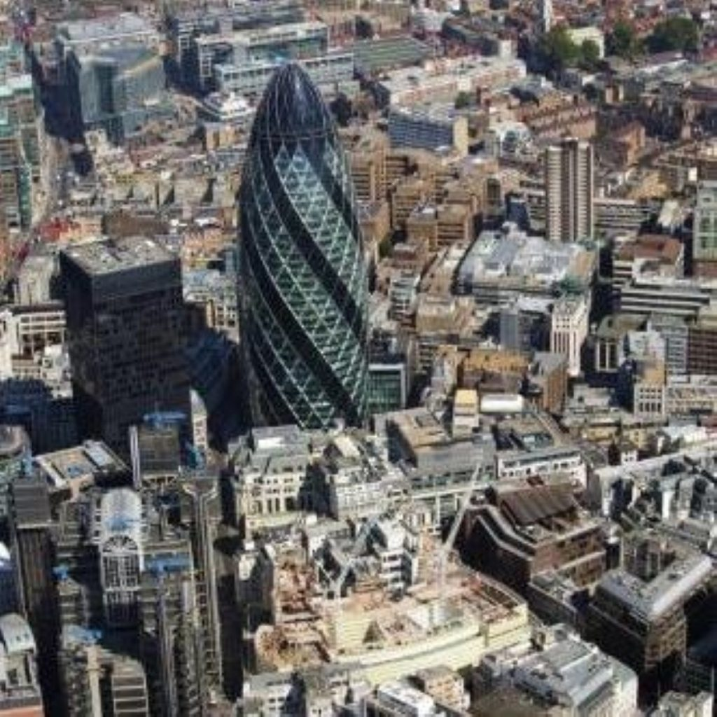 Bankers are taking in the implications of today's review in the City of London