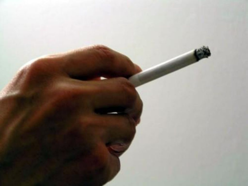 Government is planning a pilot scheme banning smoking in prisons