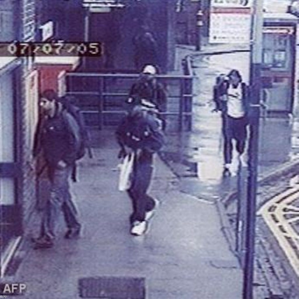 CCTV footage of the 7/7 London bombings. Three of the bombers were from West Yorkshire