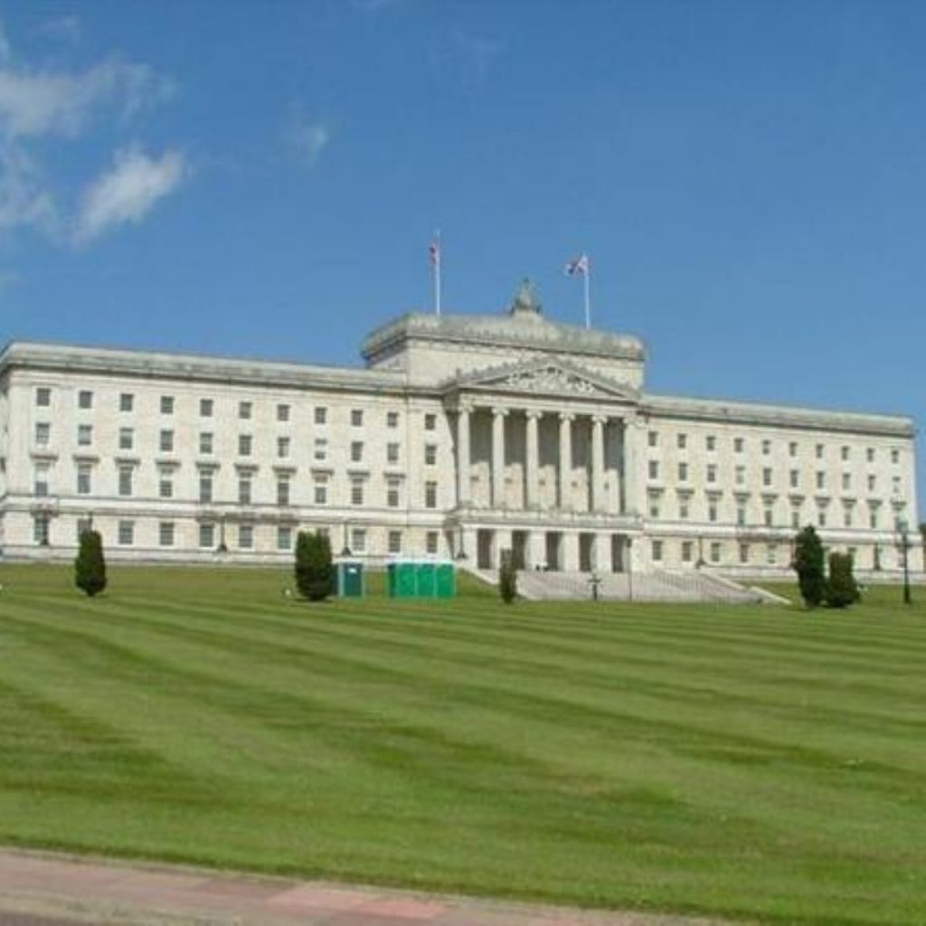 PM Brown makes first visit to Stormont
