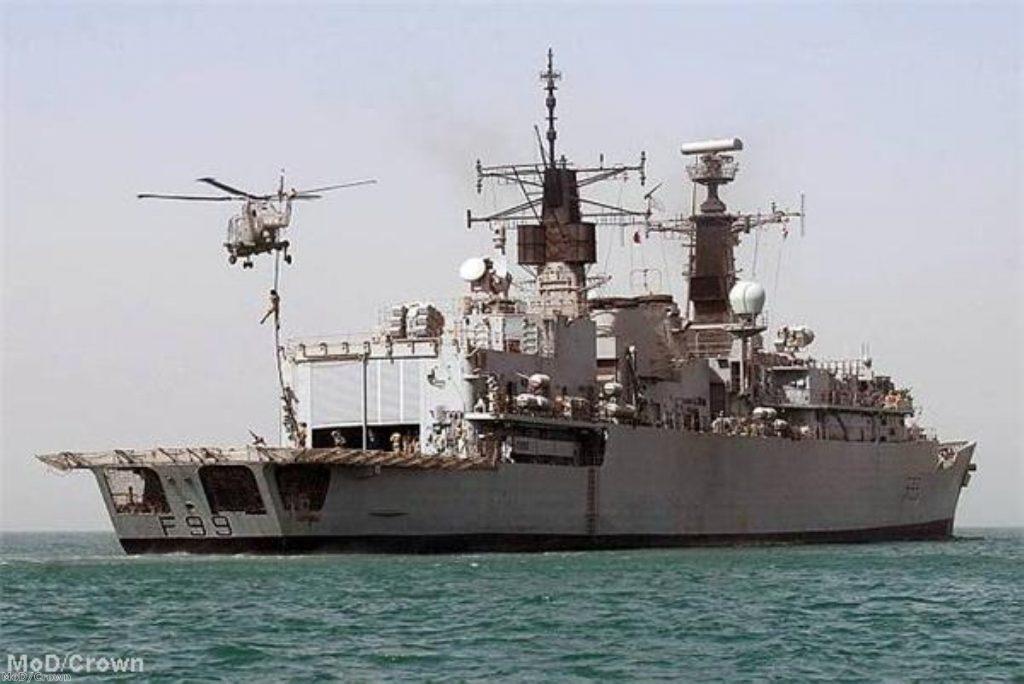 Sailors 'kidnapped' from British ship
