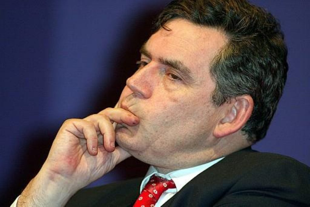 """Gordon Brown: We will work """"night and day"""""""