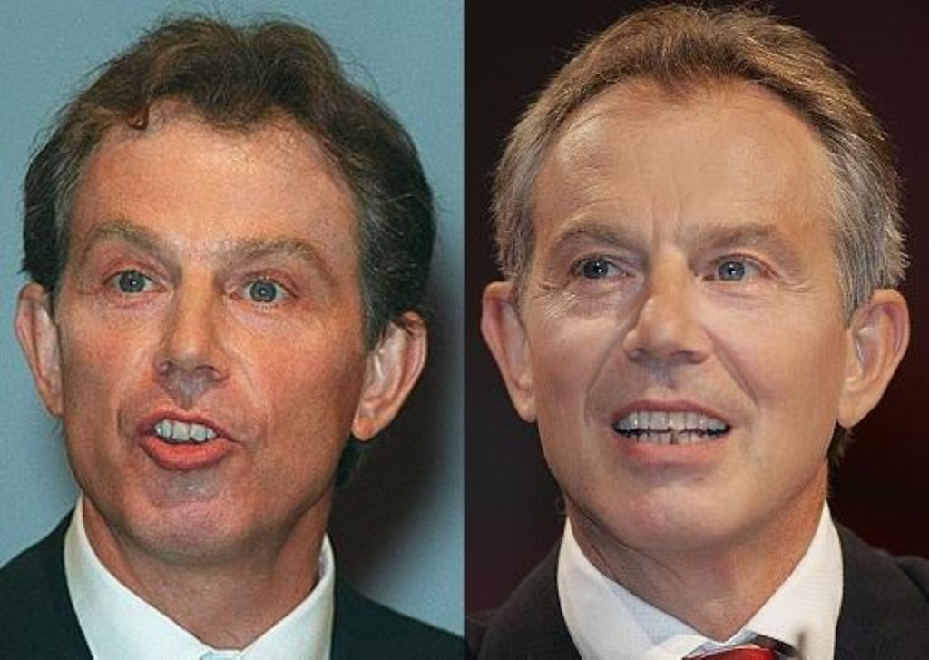 Blair admits expectations 'too high' in 1997