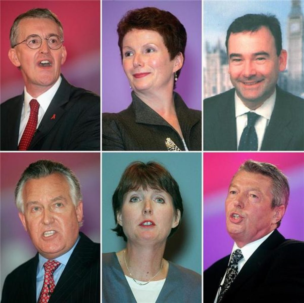 Six contenders are competing for the deputy leadership