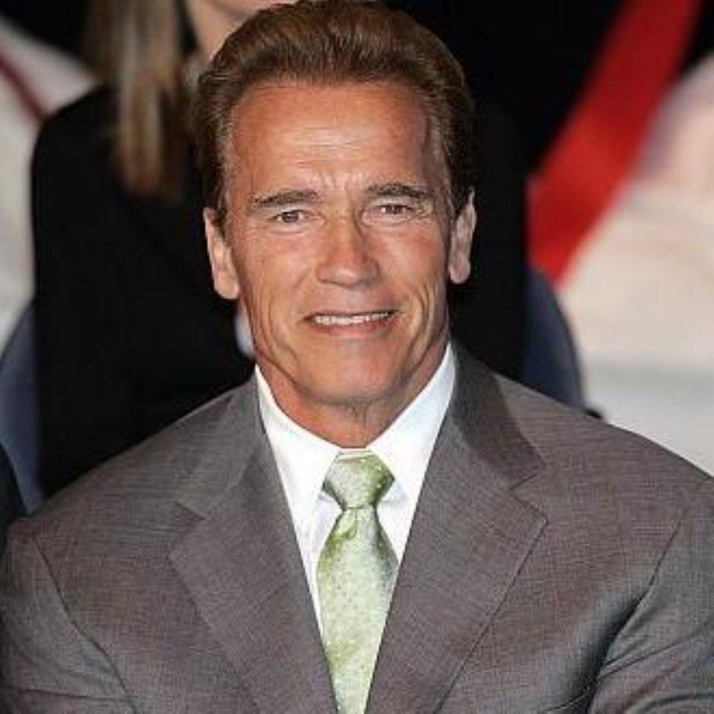 A Tory spokesman confirmed that Arnold Schwarzenegger would be back