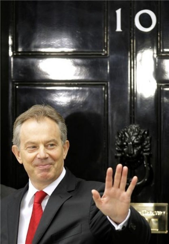 Tony Blair was appointed Middle East envoy after leaving No 10 on Wednesday