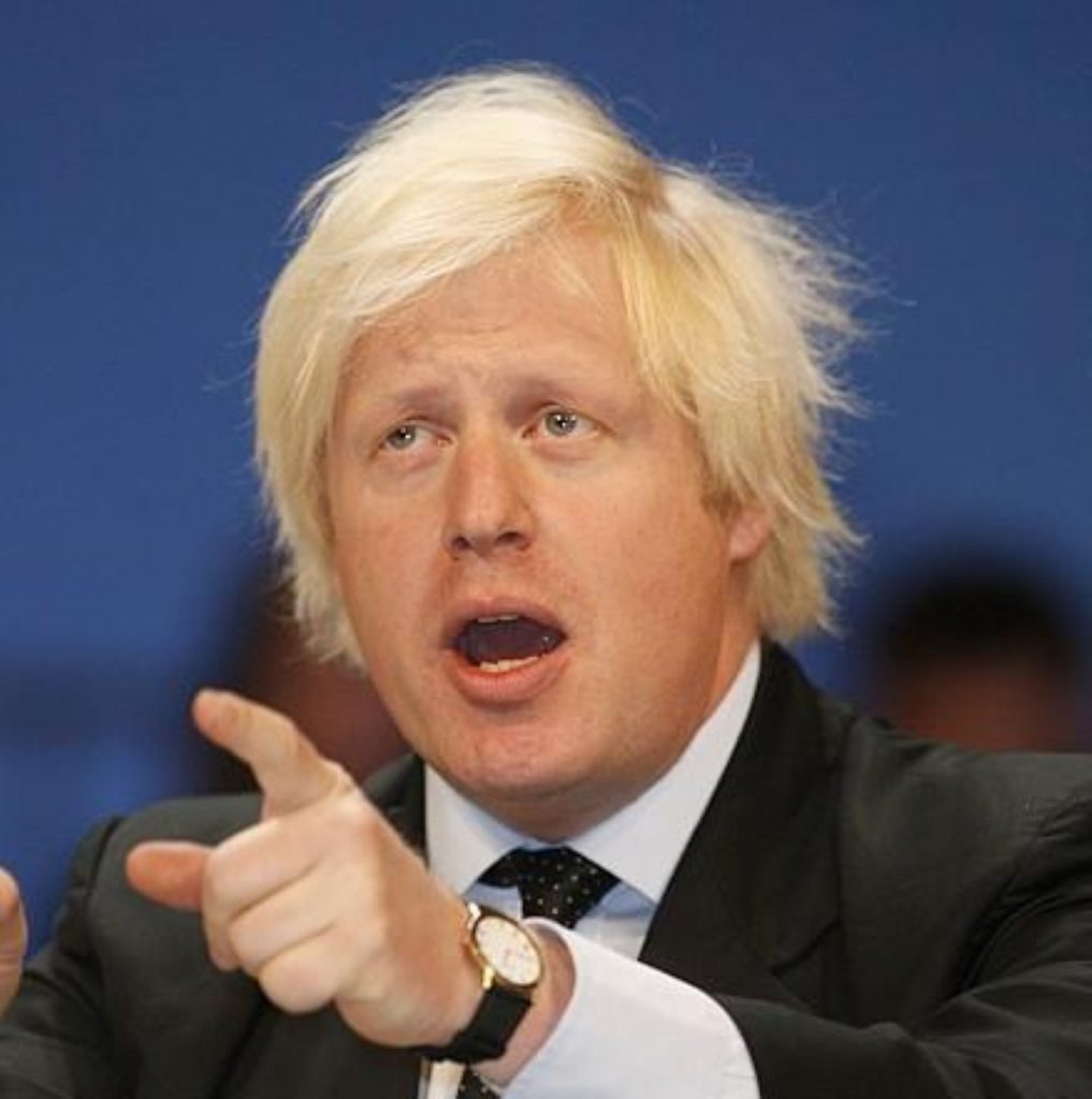 Mr Johnson stood down from his constituency seat this morning