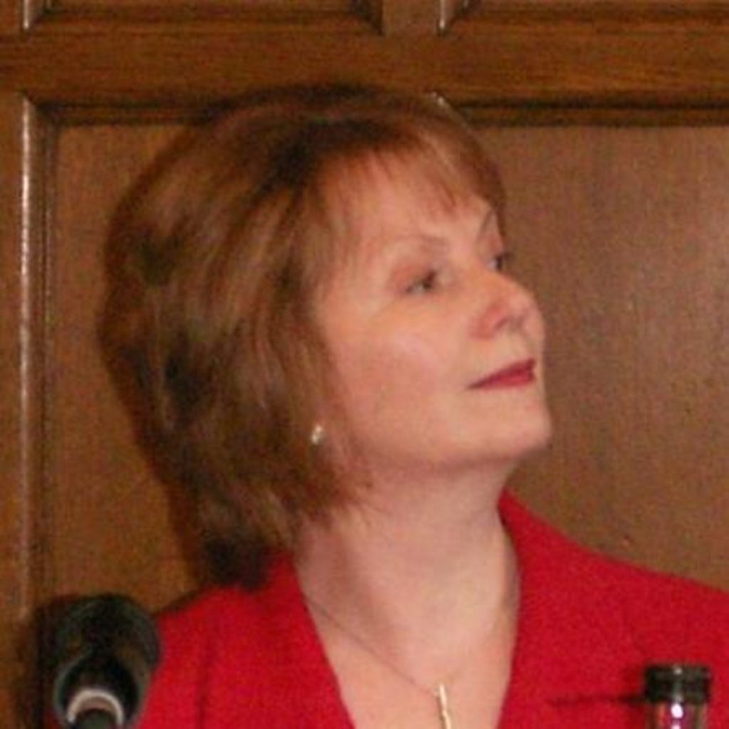 """Hazel Blears respects the working class' """"ambition"""""""