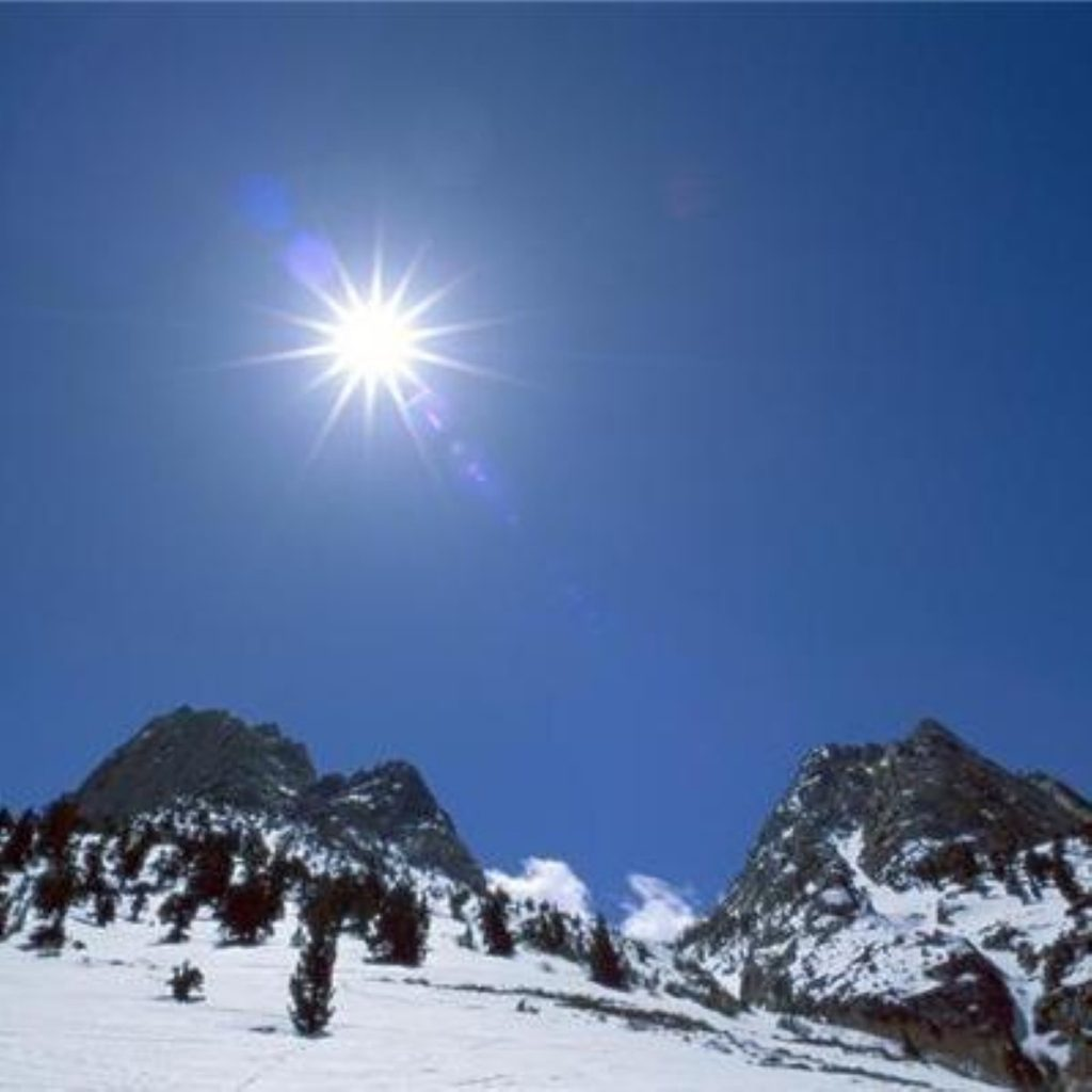 Glacier retreat in the Alps is part of the climate change challenge faced by Europe