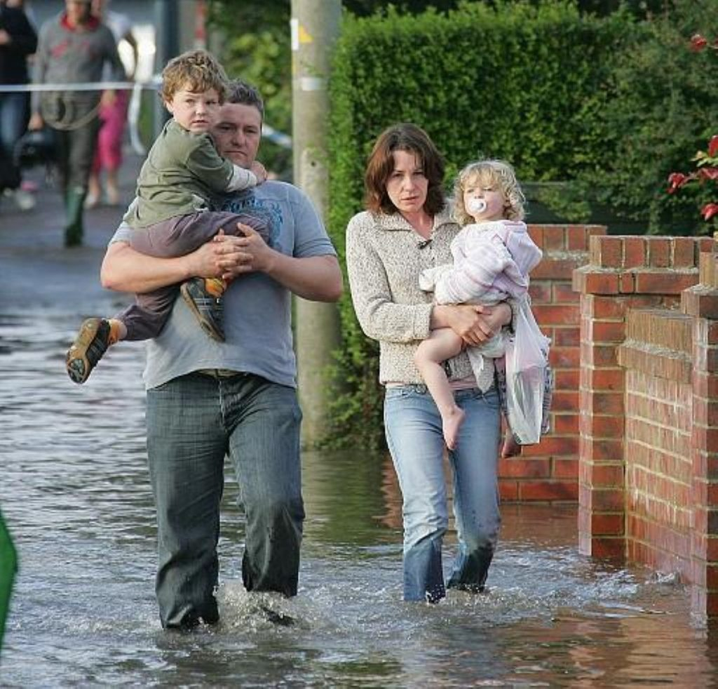"""Unprecedented"" rainfall behind flood defence failure"