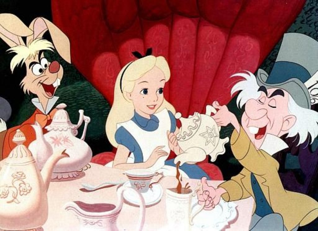 Alice in Wonderland: Lord Dear deploys an unusual argument against gay marriage