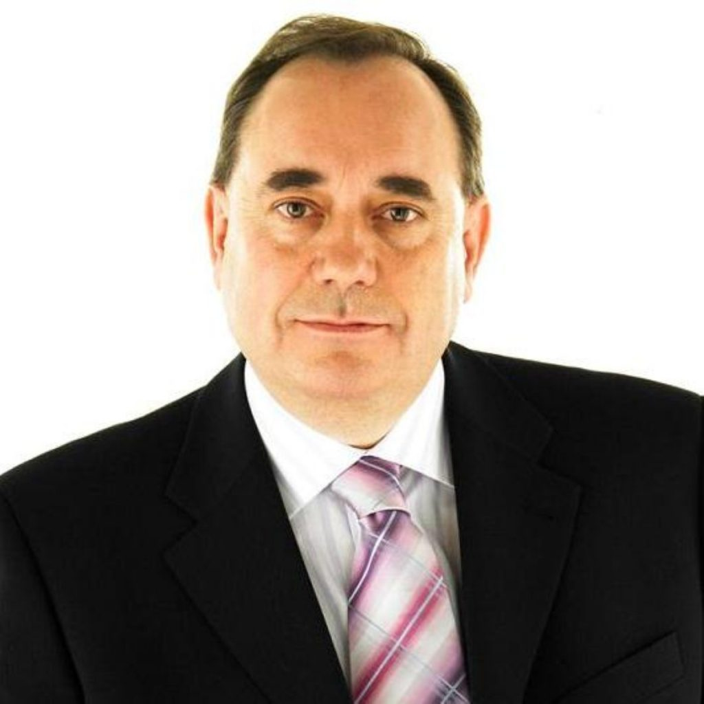 Mr Salmond says he welcomes the contest