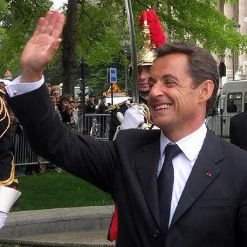 Nicolas Sarkozy is on a two-day state visit to Britain