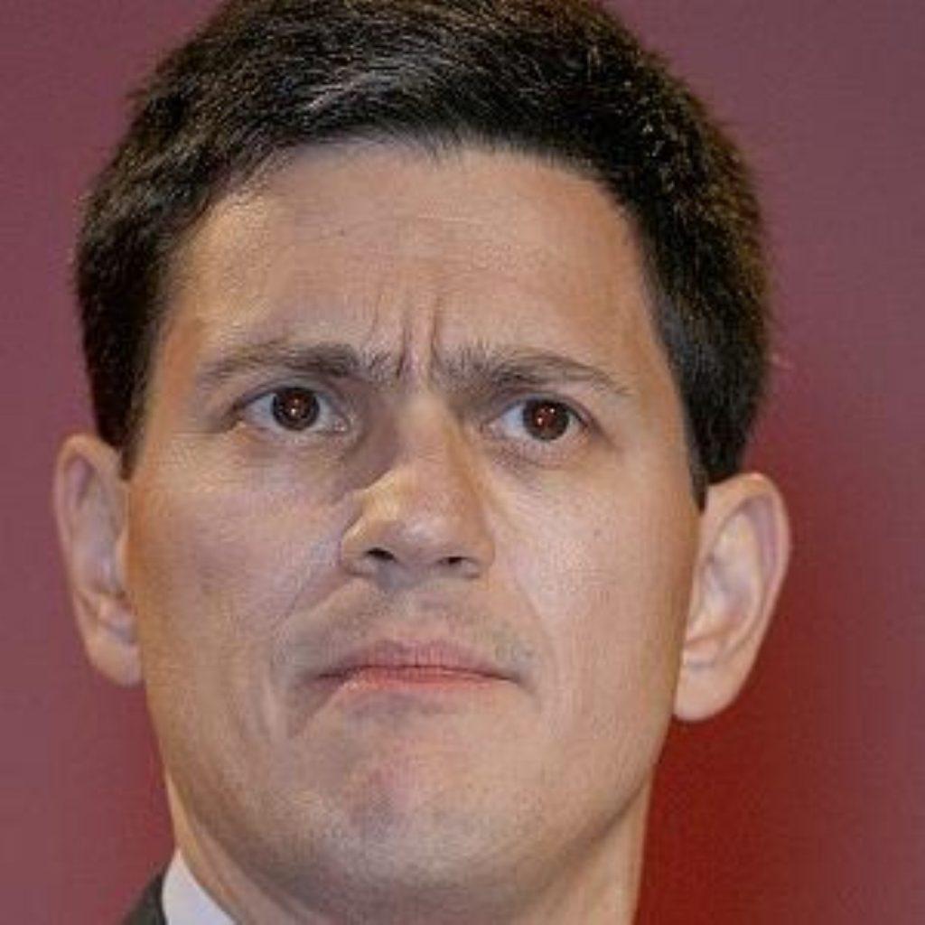 David Miliband - convincing, but not too convincing