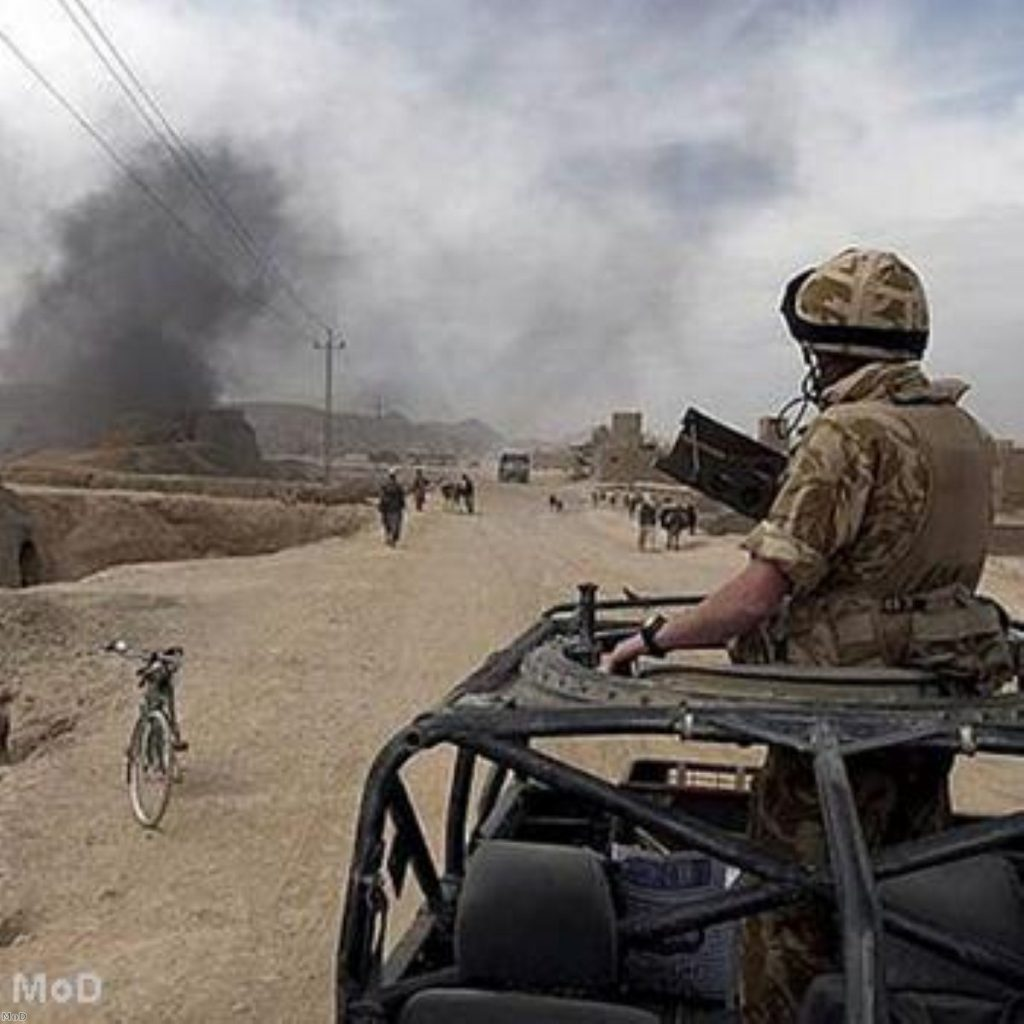 UK troops in Afghanistan are suffering from a shortage of helicopters