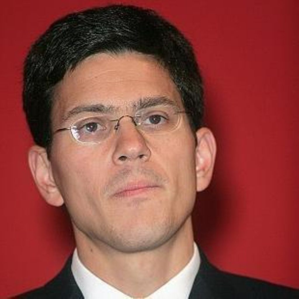 No frosty relations, David Miliband says