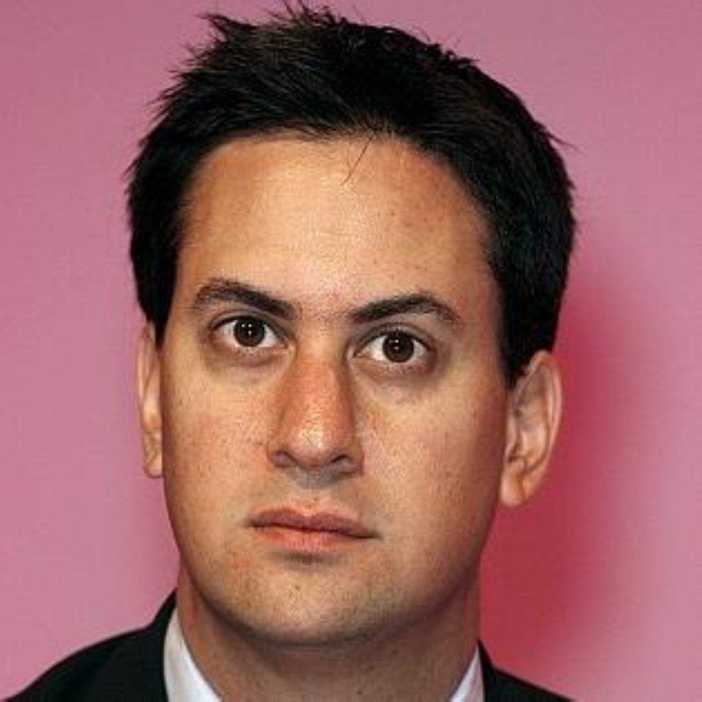 Miliband got a good reaction from his colleagues